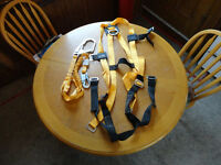 Brand new never used titan safety harness with lanyard