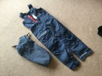 "Sailing trousers - 4""10 to 5' approx"