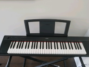 Almost brand new Yamaha NP11 61 Key Piano Electric
