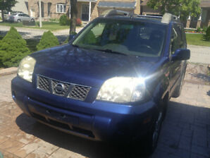 2006 Nissan Xtrail - low mileage and accident free