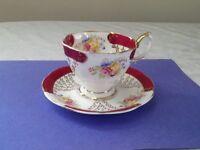 Antique Royal Albert Teacup Set