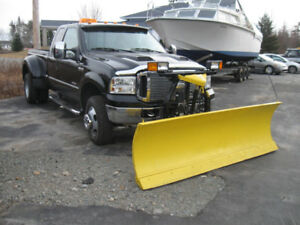Turbo Diesel F350 SD Lariat. Fifth Wheel. Plow.  TRADES