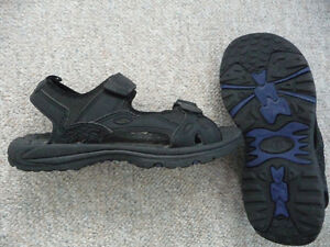 Men's Black Sandals - Suitable For Water Use - Size 8 London Ontario image 2