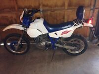 Suzuki Dr 650 street and trail
