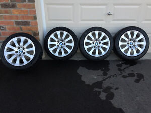 OEM BMW Style 159 with brand new 225/45/17 Toyo tires