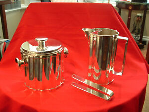 ST. JAMES SILVERPLATE PITCHER AND ICE BUCKET Peterborough Peterborough Area image 4