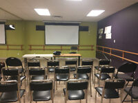 Class, lecture room for rent