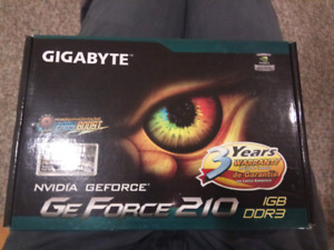 Brand New Geforce 210 video card with HDMI