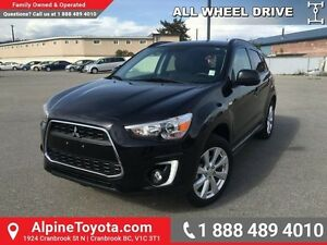 2015 Mitsubishi RVR GT   Leather, navigation, panoramic sunroof,