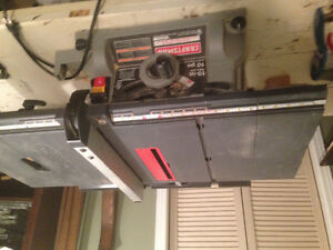 Table saw -Craftsman