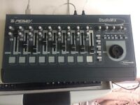 Peavey DAW MIDI Controller mixer with motorized faders