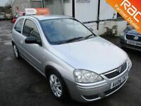 2006 Vauxhall Corsa Hatch 3Dr 1.2 16V 80 Active Petrol silver Manual