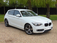 2012 62 BMW 1 SERIES 1.6 116I SPORT 5D 135 BHP *PART EX WELCOME*FINANCE AVAILABLE*WARRANTY*