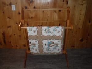 Quilt Rack for holding your beautiful quilts.