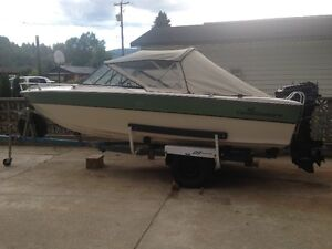 17' Canaventure fishing/runabout