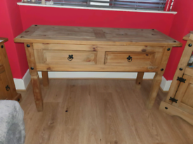 Wooden unit and tv stand