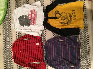 Boys Gap long sleeve shirts like new size 5