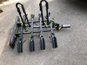 bike rack hold 4 bikes