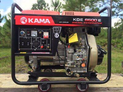 Kama Diesel Generator 6.5kw