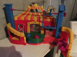 Little people circus playset