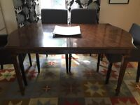 FREE veneer extendable dining table (NO chairs)
