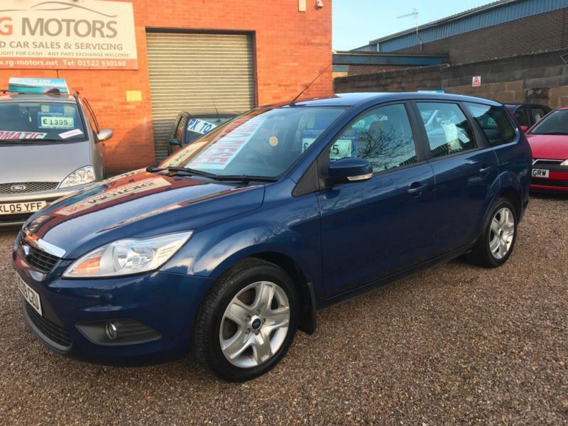 2009 Ford Focus 1 8 Tdci Style Estate   115ps   Blue   Any