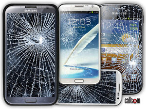 Samsung Galaxy Note 2 3 4 S3 S4 S5 S6 Cracked Screen LCD Repair★