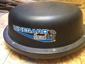 Winegard Road Trip Satellite TV Antenna and Bell Receiver
