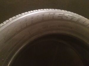 Pneu d'été BRIDGESTONE en excellente condition (4x)