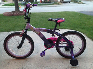 16 inch girl bike in excellent used condition