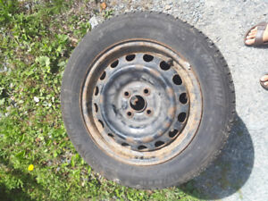 4 15s on rims - Michelin x-ice with 90 - 80% tread left, $400