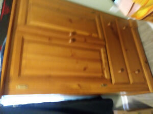 Solid wood Ar moire for sale $135 or OBOLot of storage space-