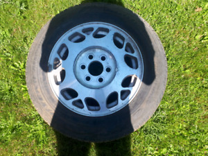 4 16inch 6 bolt  GM Cadillac aluminum wheels