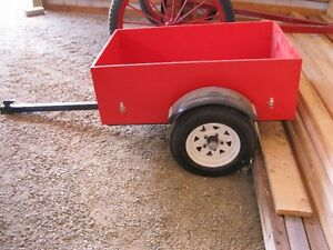 NICE STRONG QUAD OR YARD TRAILER