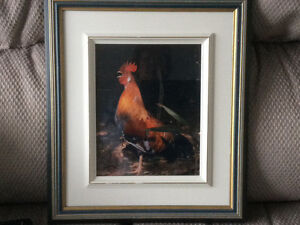 Frame hen picture