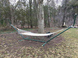 Great Summer Hammock being cleared out