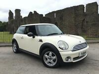 2010 Mini 1.6 One White *Low Insurance* FSH A/C 1 Owner
