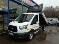 2017 Ford Transit Tipper 2.0 TDCi 105ps Single Cab L2 CHASSIS CAB Diesel Manual