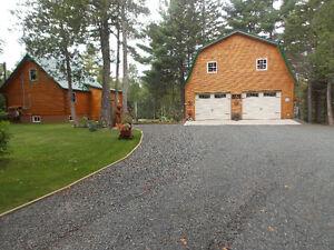 NEW PRICE!!!!   PRIVATE SALMON POOL!!!  LARGE GARAGE!!! Prince George British Columbia image 1