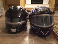 Snowmobile helmets, suits and equipment for sale