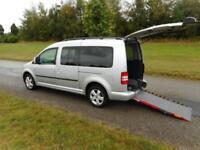 2013 63 Volkswagen Caddy Maxi Life 1.6 Tdi WHEELCHAIR ACCESSIBLE VEHICLE WAV