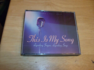 CD SET THIS IS MY SONG LEGENDARY SINGERS & SONGS