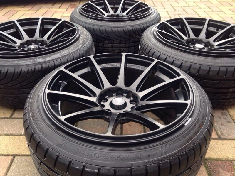 18 Quot Japan Racing Concave Series Alloy Wheels Amp Tyres 5x120