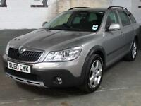 2010 60 SKODA OCTAVIA 2.0 TDi CR 140 Bhp SCOUT 4x4 AWD ESTATE Auto Lights/Wipers