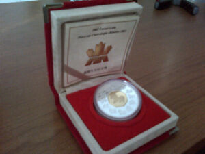2002 royal Canadian mint rare Chinese year of the horse coin