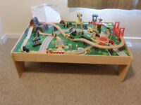 Waterfall Mountain Train Table and Set