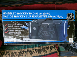 BNIB Wheeled Hockey Bag