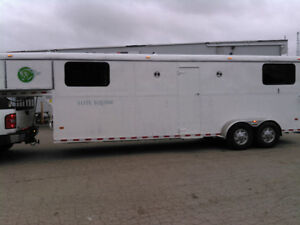4 horse /3 box stall or 5 Horse trailer. finance available