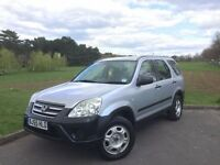 2005/55 HONDA CR-V 2.2 i-CDTI SE, DIESEL, 6-SPEED MANUAL, 4x4 SUV ***NEW MOT***FULL SERVICE HISTORY