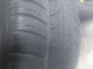 215/60R15 Tires on 5x100 Rims